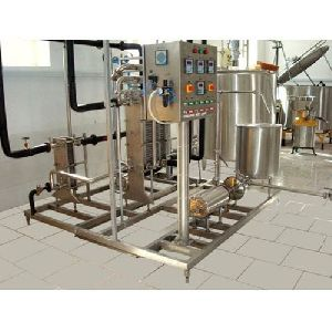 Milk Pasteurizer With Control Panel
