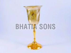 Brass Champagne Glass