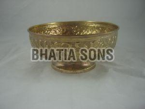 Brass Designer Bowl