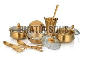 Brass Dinner Set