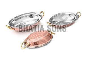 Copper Entree Dish