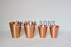 Copper Tumbler Set