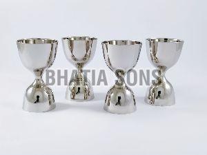 Nickel Plated Brass Peg Measurer