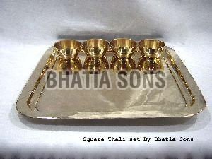 Square Thali Set