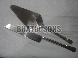 Stainless Steel Cake Server