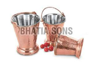 Steel Copper Bucket