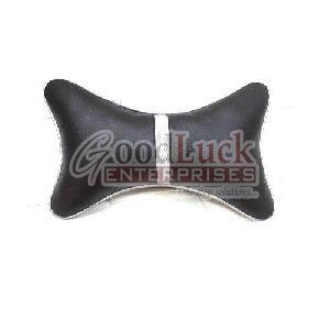 PU Leather Neck Rest Pillow