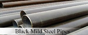 Black Mild Steel Pipes