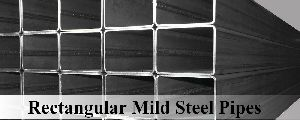 Rectangular Mild Steel Pipes