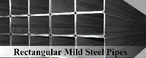 Rectangular Mild Steel Pipes