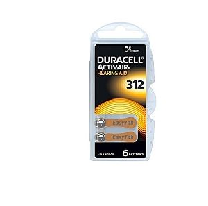 Duracell Hearing Aid Battery