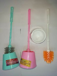 Toilet Brush with Container