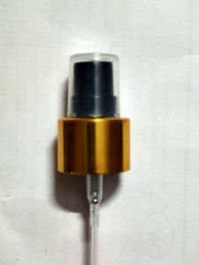 24 mm Golden Black Mist Spray Pump
