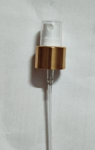 24mm Golden White Mist Spray Pump