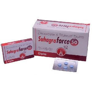 Suhagra Force 50mg Tablets