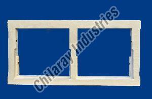 2 Panel Wooden Window Frame