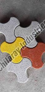 Colored Paver Block
