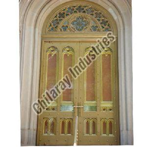 Concrete Marble Finish Door