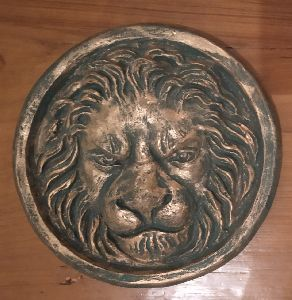 Fiberglass Lion Wall Hanging