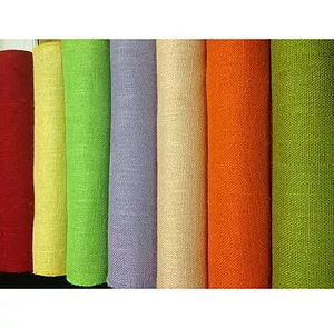 Coloured Jute Fabric