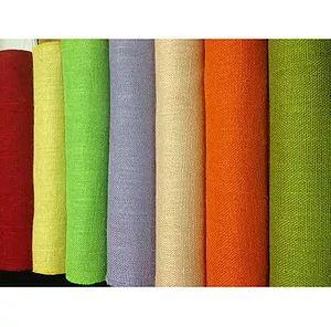 Coloured Jute Fabric
