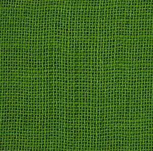 Green Jute Fabric
