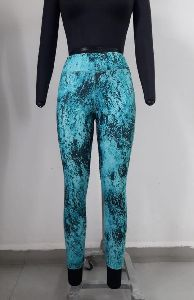 Abstract Printed Sports Leggings