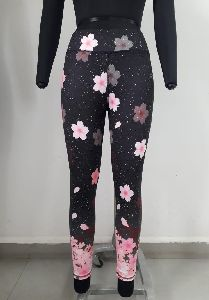 Floral Printed Sports Leggings