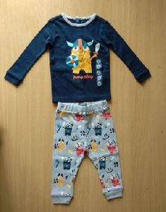 Kids T-shirt Pyjama Set