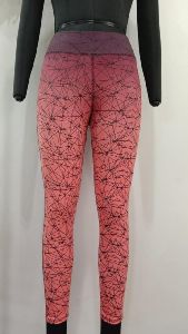 Sublimation Printed Sports Leggings