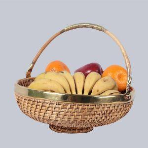 Cane fruit baskets.