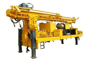 30m Depth skid mounted Piling rig/Machine for construction purpose
