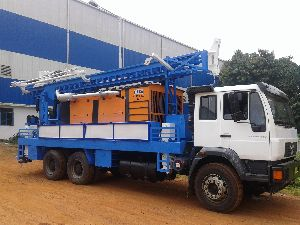 450m Truck Mounted Dth Cum Rotary Drilling Rig for Sale
