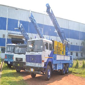 450m Truck Mounted Dth Cum Rotary Refurbished Water Well Drilling Rig for Sale