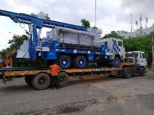 deep water well drilling machine supplied to Africa