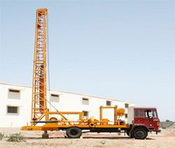 Indian Rotary reverse circulation drilling rig machine