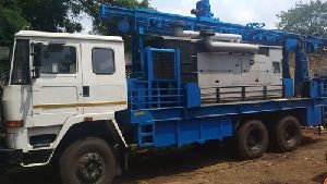Most capable and powerful hydraulic water borehole drilling
