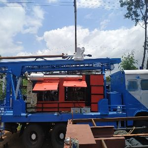 PDTHR-300 REFURBISHED(TATA) truck mounted drilling rig