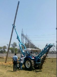 Pole Drilling Rig For Sale at low and best price