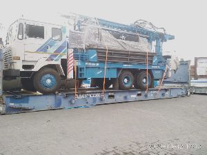 Truck mounted hydraulic Rotary cum DTH drilling machine