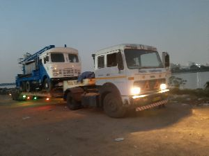 water well drilling rig dispatched
