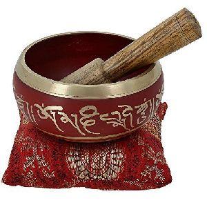 Brass Handicraft Singing bowl , Singing Bowl