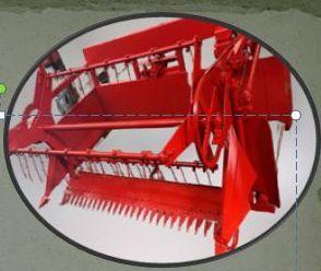 3 Belt Tractor Mounted Reaper