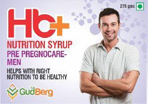Hb+ Pre Pregnocare Men Nutrition Syrup