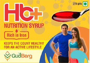 GudBerg Rich in Iron Nutrition Syrup