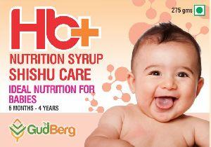 GudBerg Shishu Care Nutrition Syrup