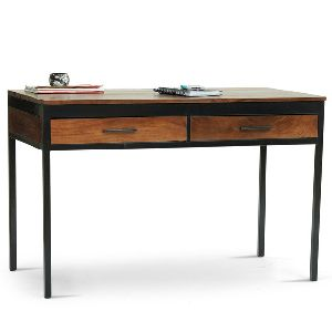 metal solidwood Study table