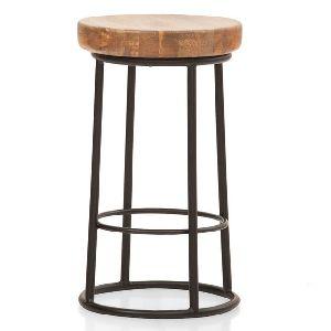 steel round stool