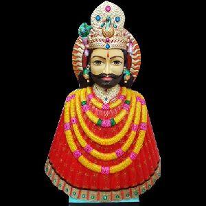 Marble Khatu Shyam Baba Statue
