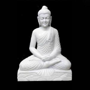 Marble Mahaveer Ji Statue